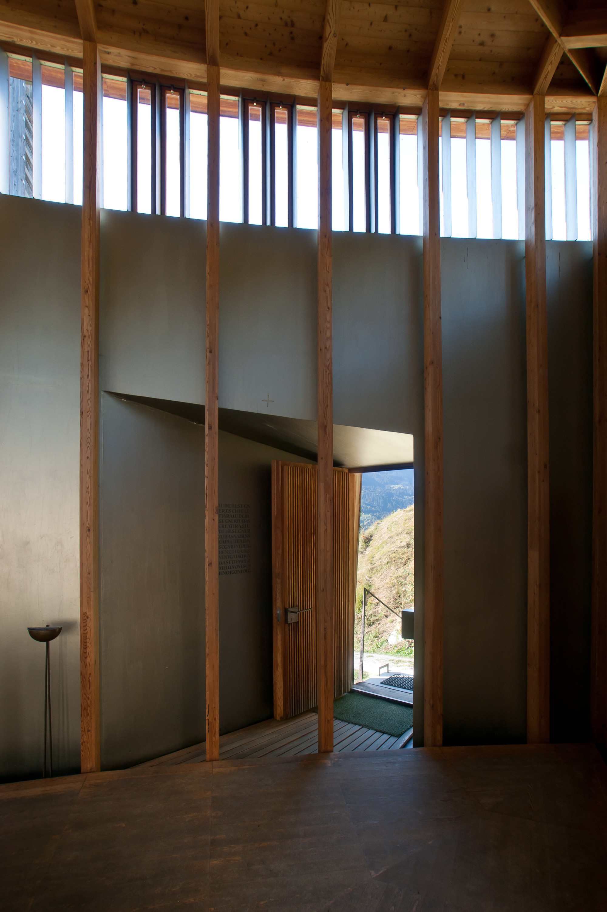 Gallery Of Ad Classics Saint Benedict Chapel Peter Zumthor 5