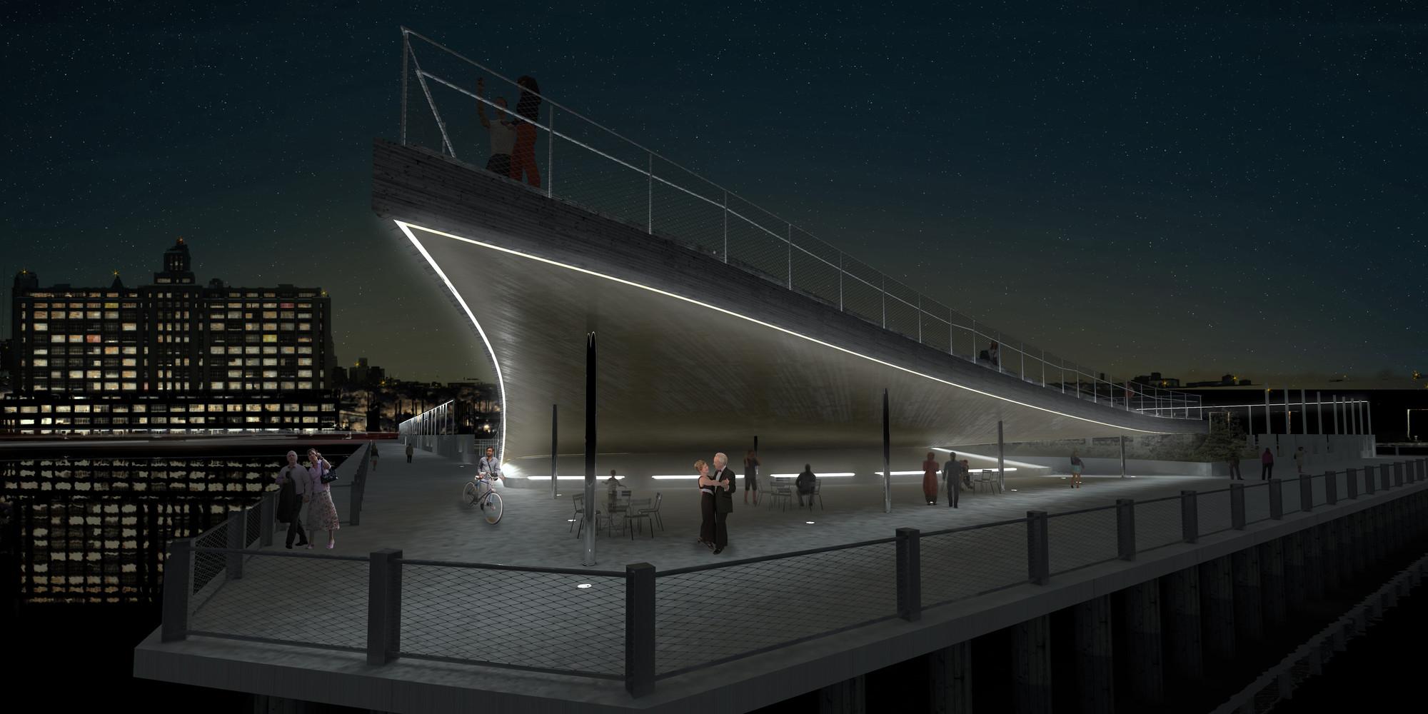 Gallery Of Brooklyn Bridge Park Pier 6 Viewing Platform