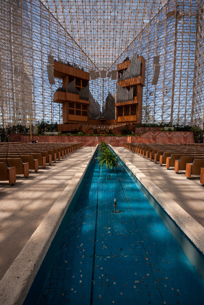 Gallery Of Ad Classics The Crystal Cathedral Philip