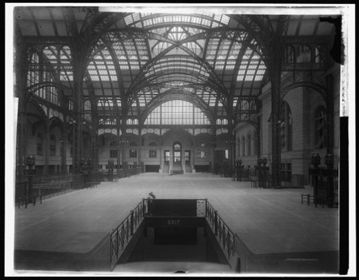 Main Concourse. Image © Library of Congress, Prints and Photographs Division, Detroit Publishing Company Collection