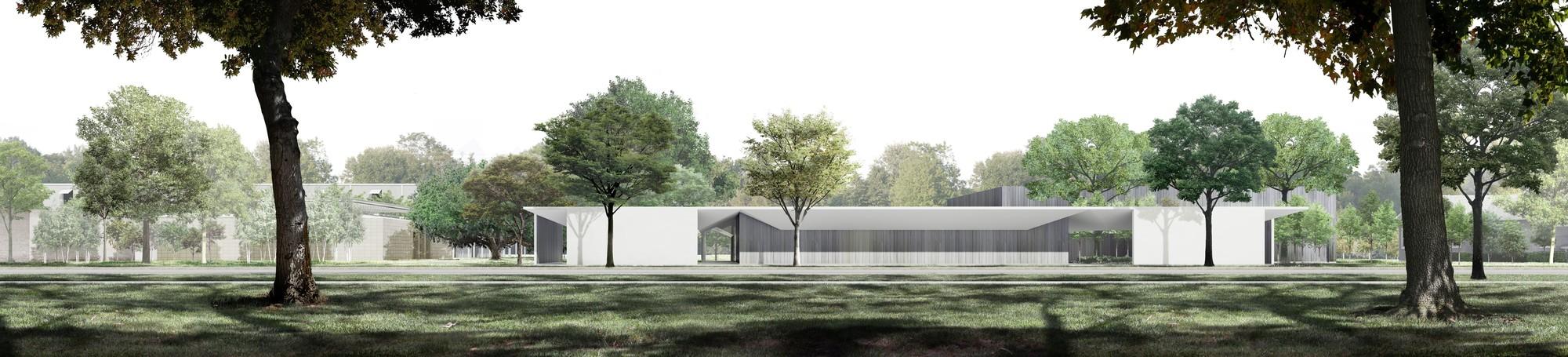 Johnston Marklee S Design For Menil Drawing Institute To