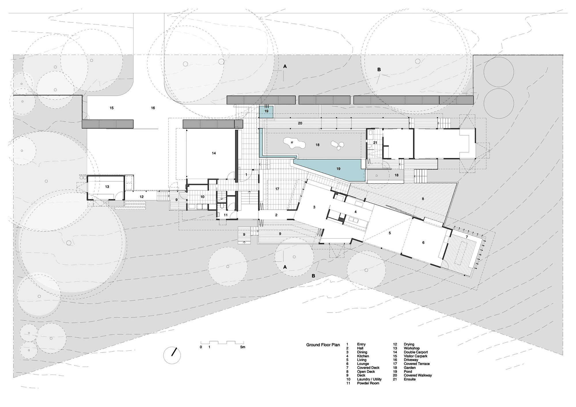 Courtyard House Plans