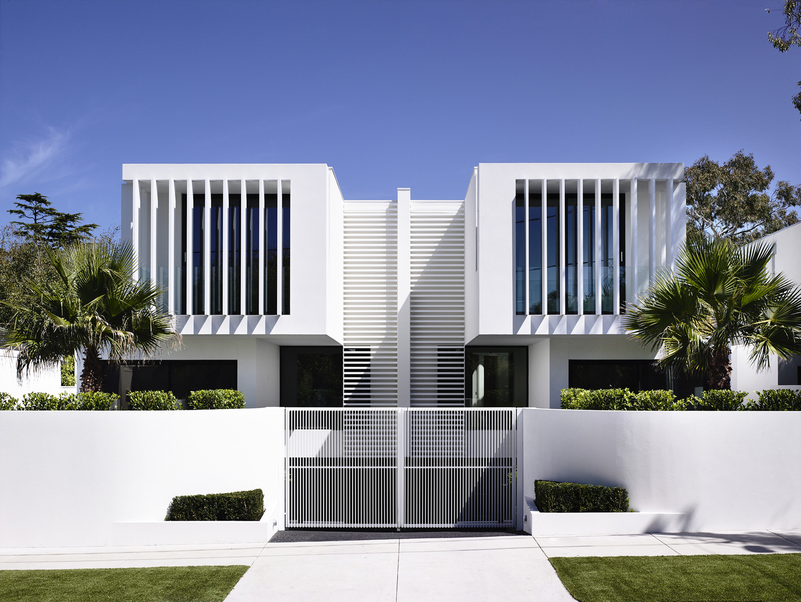 Brighton Townhouses Martin Friedrich Architects ArchDaily