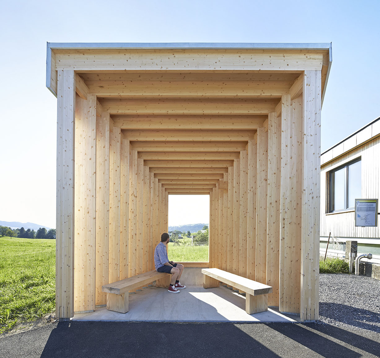 New Images Released of Krumbach, Austria's Famous Bus Stops,© Hufton + Crow