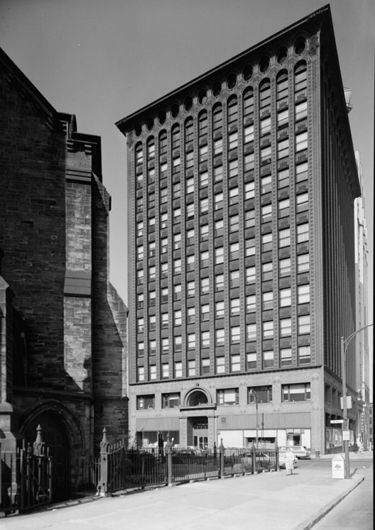 The Guaranty Building in Buffalo, New York. Image © Jack E. Boucher (public domain)