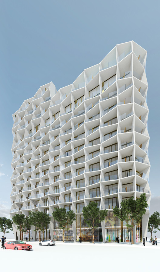 Miami Design District Tower Studio Gang Archdaily