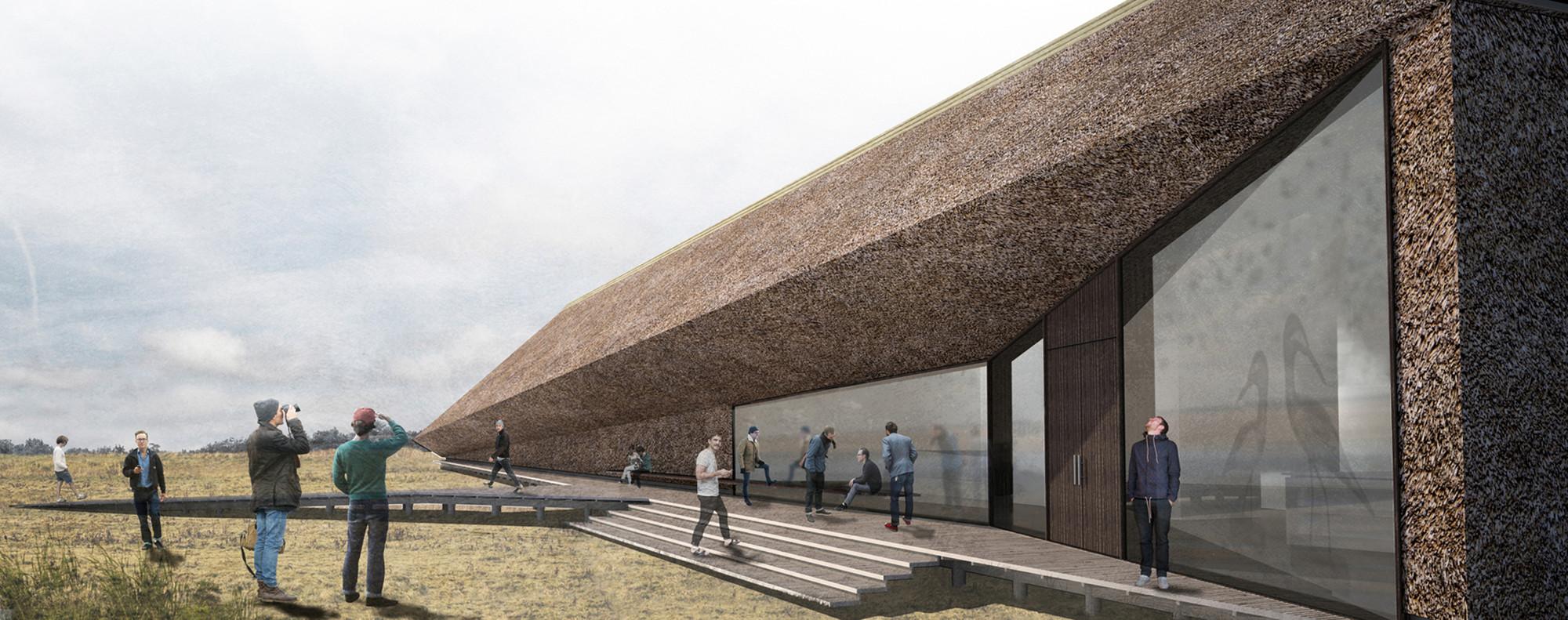 Gallery Of Dorte Mandrup Designs Wadden Sea Center For