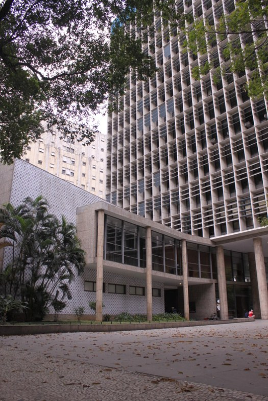 Ministry of Education and Health Building, Rio de Janeiro. Image © Marina de Holanda