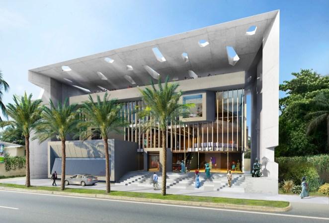 Sylvia Bongo Ondimba Foundation Headquarters in Libreville, Gabon. Image Courtesy of Adjaye Associates