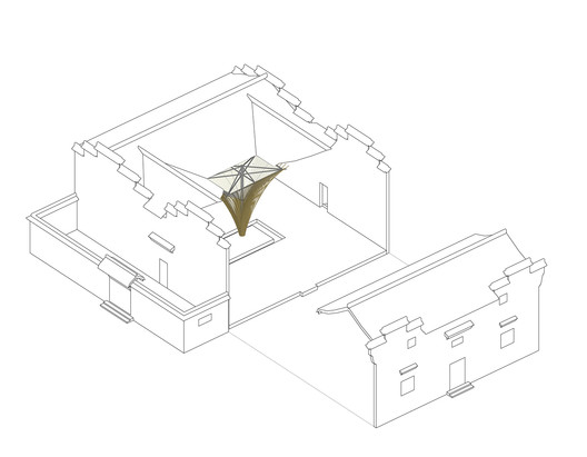 Internal layout of the building