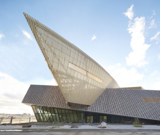 Mons International Congress Xperience (MICX) / Studio Libeskind + H2a Architecte & Associés. Image © Hufton+Crow