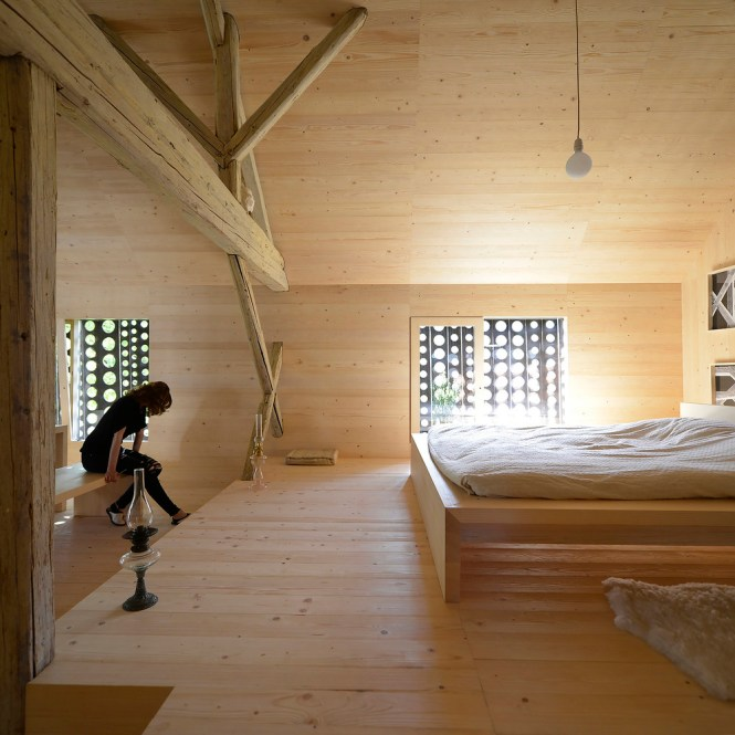 Gallery Of Alpine Barn Apartment Ofis Architects 35