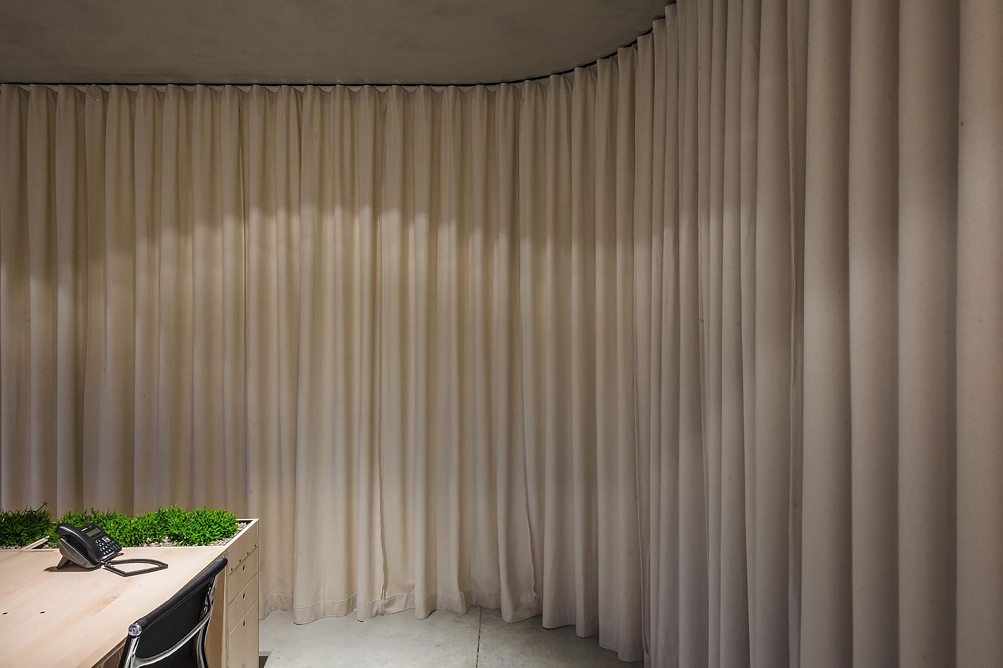 curtain for office verat
