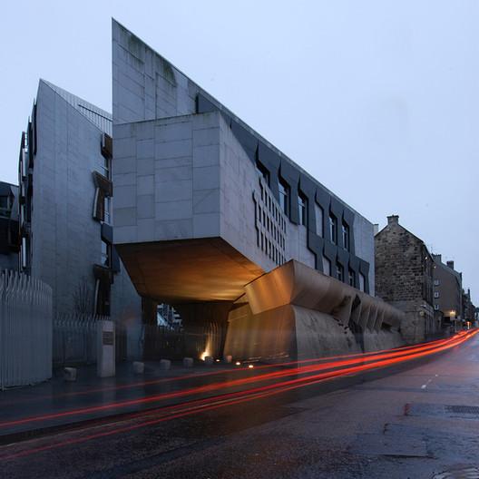 Scottish Parliament Building. Image © Dave Morris
