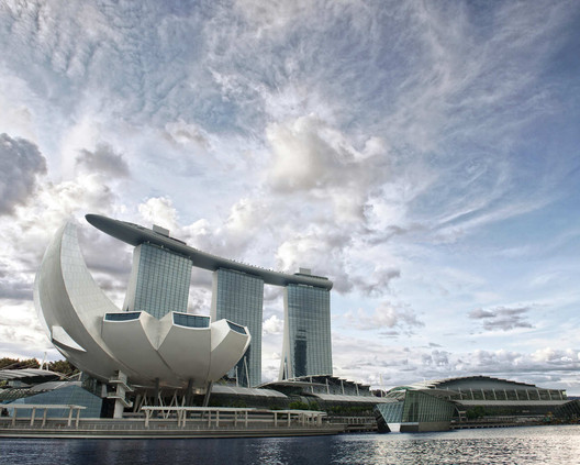 Singpore's Marina Bay Resort. Image © MBS Digital Media