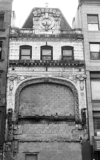 The Jefferson Theater, at 214 East 14th Street. Image © G.Alessandrini