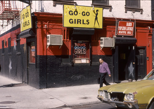 The Babydoll Lounge, at 34 White Street. Image © G.Alessandrini