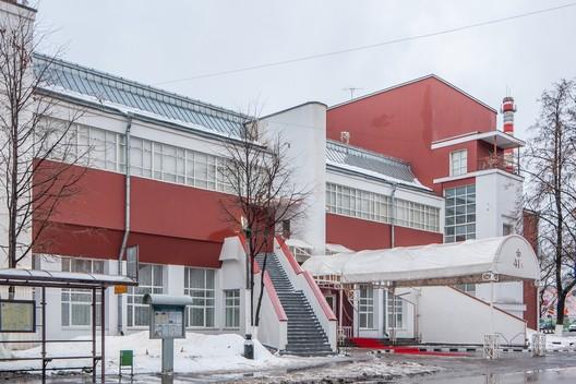 Svoboda Factory Club (1927-1929) / Konstantin Melnikov. Image © Denis Esakov