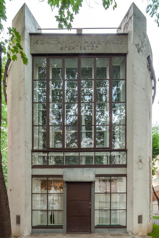 Melnikov Residence (1929) / Konstantin Melnikov. Image © Denis Esakov