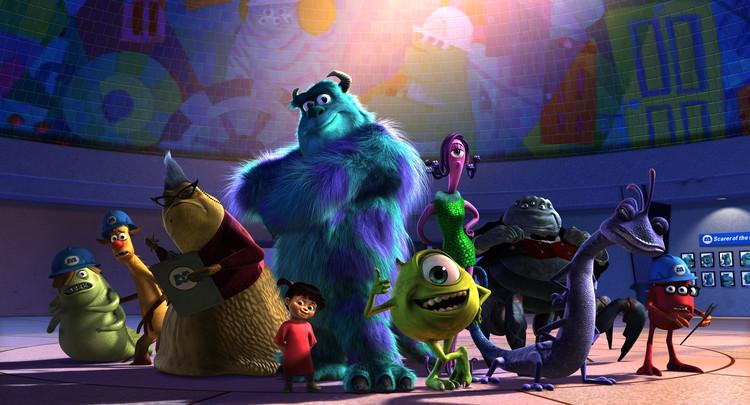 """""""Monstros S.A"""" mostra uma variedade muito grande de criaturas. Imagem © Pixar"""