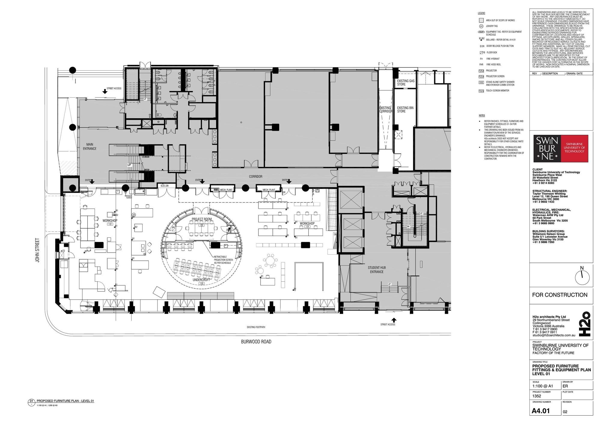 Gallery Of Swinburne University Of Technology Factory Of