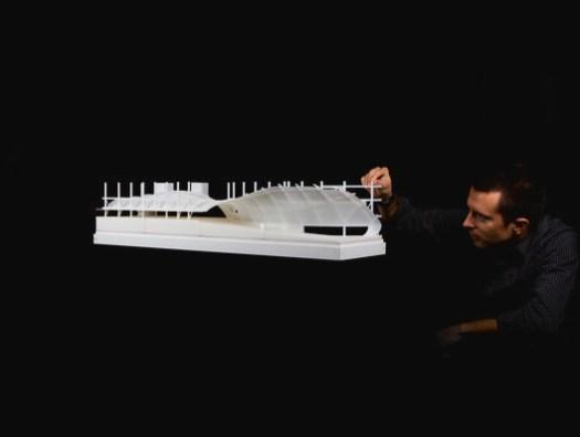 1:100 3D Printed Skin