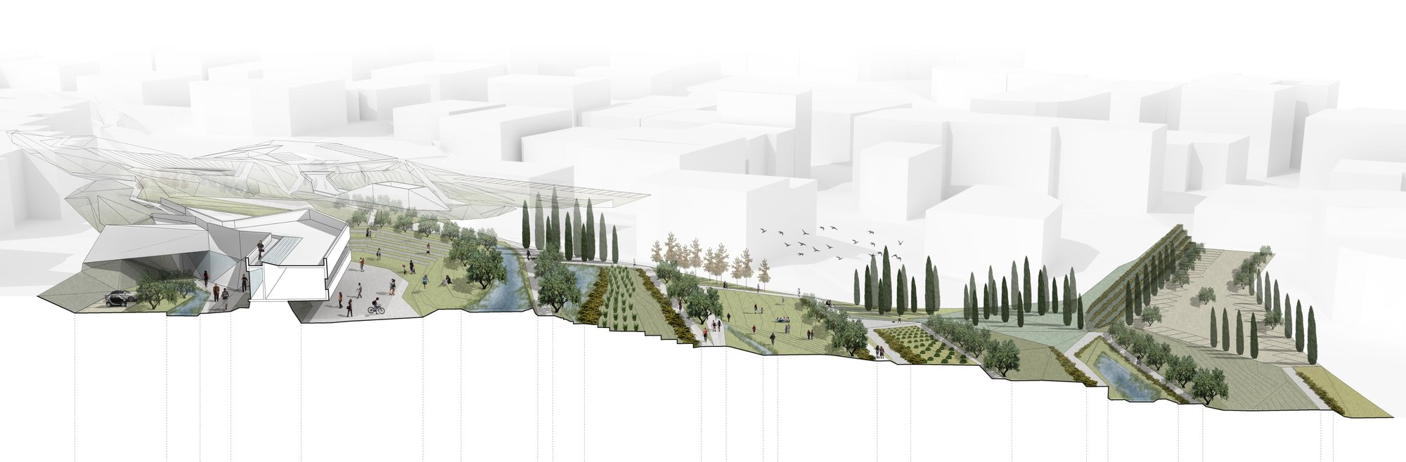 Gallery Of Urban Park Of Palouriotissa Third Prize Winning