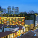 """A Glowing Lantern for  """"Little India""""; Singapore / Robert Greg Shand Architects and Urban Design - URBNarc. Image Courtesy of World Architecture Festival"""