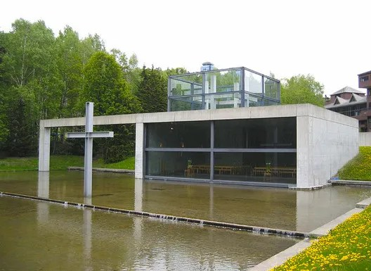 Church on the Water. Image © Tadao Ando