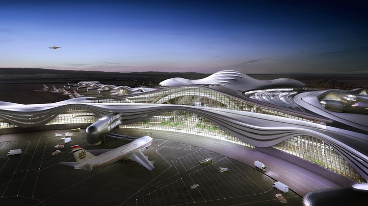 Abu Dhabi International Airport Kpf Archdaily