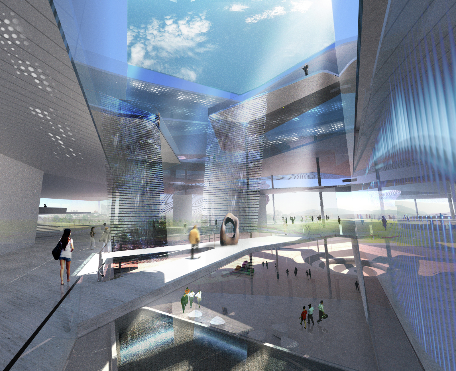Gallery Of New Taipei City Museum Of Art Proposal