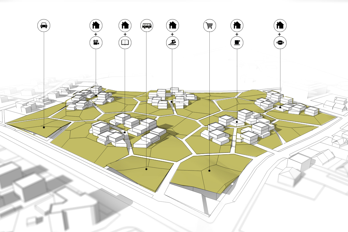 Gallery of Housing Estate Proposal  Mikolai Adamus & Igor