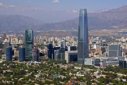 Costanera Center, Santiago, Chile. Image © Flickr User: armandolobos licensed under CC BY-NC-ND 2.0