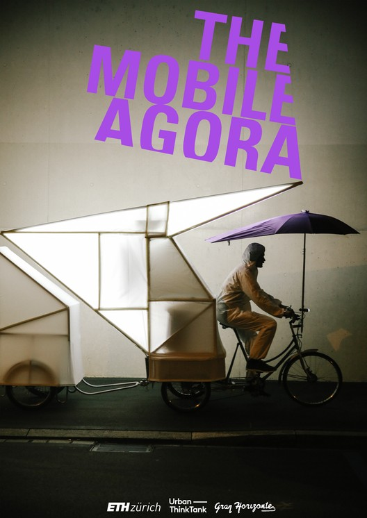 """The Mobile Agora from the """"News from Nowhere"""" exhibition. Image by Urban-Think Tank at ETH Zürich"""