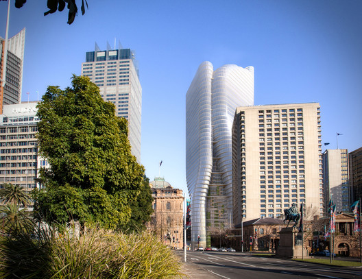 Winner in Competition Entries Category. Quay Quarter / Francis-Jones Morehen Thorp in Australia.