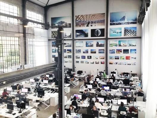 Office of BIG. Image © BIG-Bjarke Ingels Group