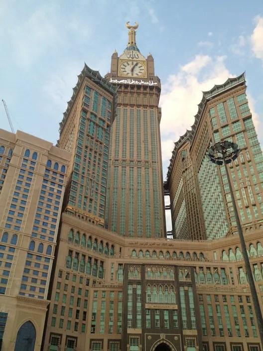 Makkah Royal Clock Tower. Image © Samira [Flickr] under license CC BY 2.0