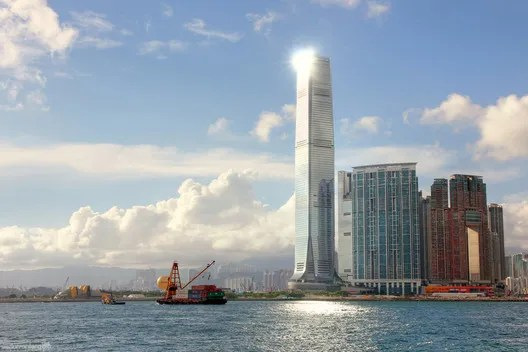 International Commerce Centre. Image © Isaac Torrontera [Flickr] under license CC BY 2.0