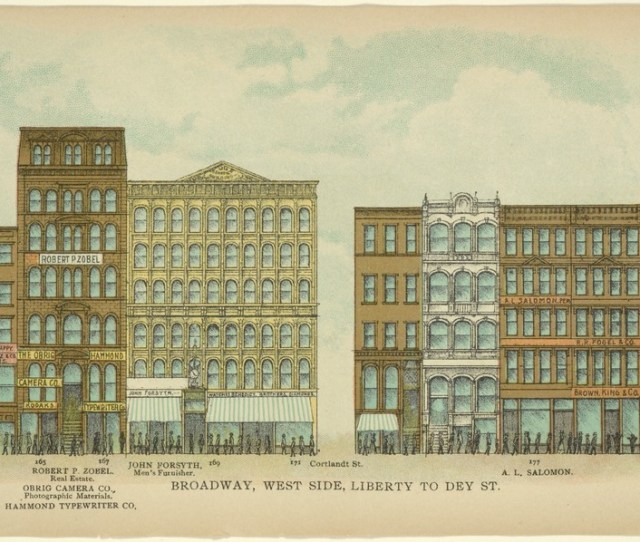 These Are The Best Architecture Images From The Nypls New Public Domain Collectionbroadway