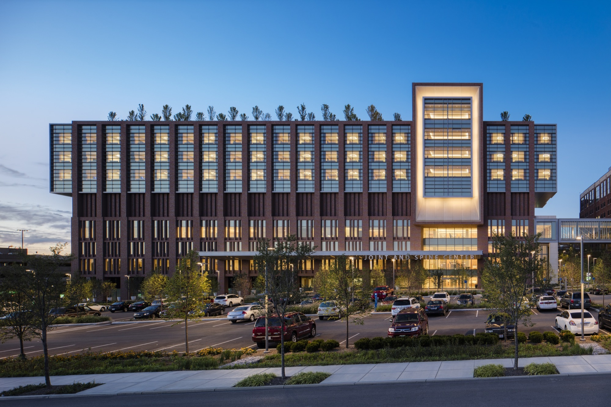 The Christ Hospital Joint And Spine Center SOM ArchDaily