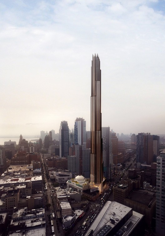 SHoP Wins Landmarks Commission Approval for Brooklyn Supertall, via YIMBY