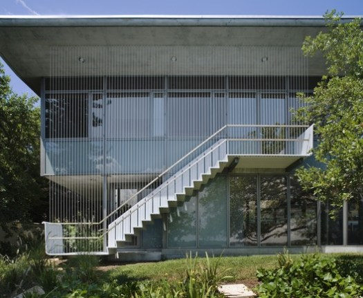 Addition to the Paul Rudolph-designed house near Sarasota, Florida. Image © Paul Warchol