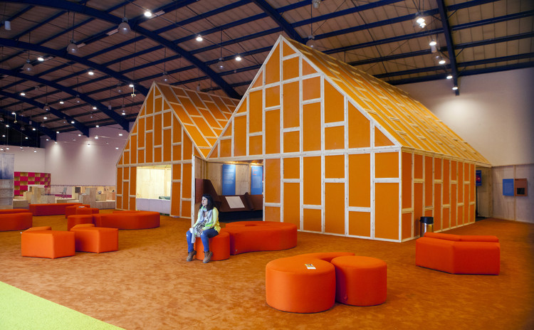 MVRDV Designs Reusable Pavilion for Bogotá Book Fair, © Punto Avi