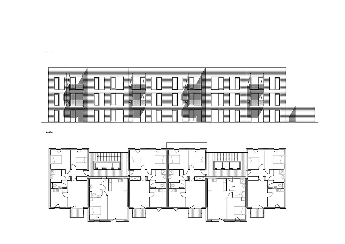 Gallery Of 60 Social Housing Apartments In Rive-De-Gier