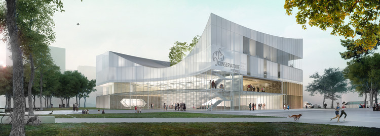 Tetrarc Architects Unveils Design Proposal for the Rennes Conservatory , Courtesy of AirStudio