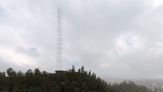 Santiago Antenna Tower / Smiljan Radic + Gabriela Medrano + Ricardo Serpell . Image Courtesy of Smiljan Radic, Gabriela Medrano, and Ricardo Serpell