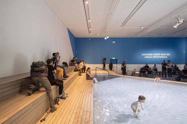 """""""The Pool"""" in the Australian Pavilion. Image © Laurian Ghinitoiu"""