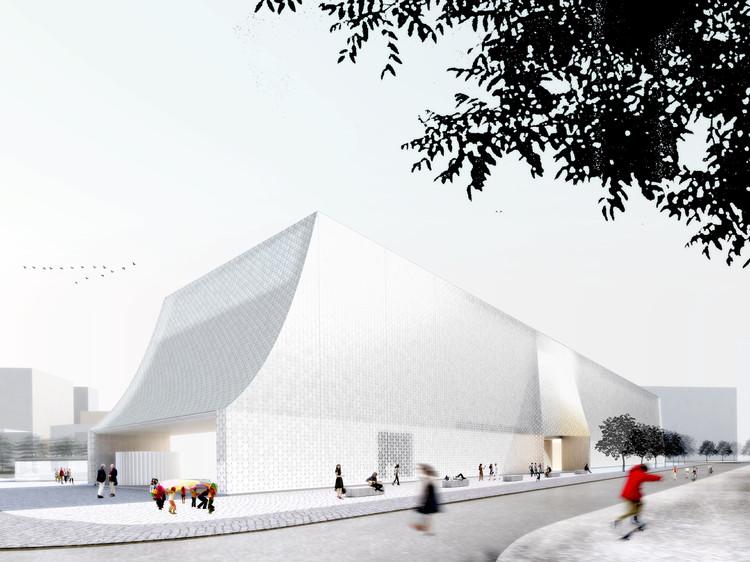 Lahdelma & Mahlamäki Architects (Finland) and MADE arhitekti. Image © Malcolm Reading Consultants