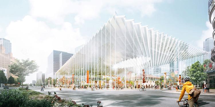 Stewart Hollenstein Envision New Cultural Spine for Shanghai, Courtesy of Stewart Hollenstein