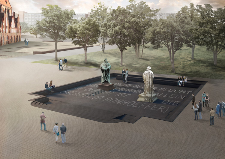 Zeller & Moye Wins Competition to Design Martin Luther Memorial in Berlin, © Zeller & Moye